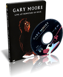 DVD-диск Gary Moore - Live at monsters of rock (2003)