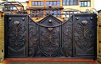 Кованые ворота (галерея)