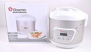 Мультиварка Домотек DT517: 9 режимов, отложенный старт, поддержание температуры, чаша 5 л, 700 Вт
