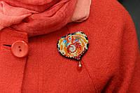 Набор для вышивки бисером украшения на натуральном художественном холсте Дракон