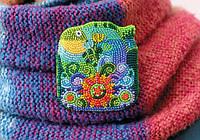 Набор для вышивки бисером украшения на натуральном художественном холсте РыбаНабор для вышивки бисером на натуральном художественном холсте Сокровища