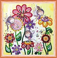 Набор для вышивки бисером Цветные мотыльки