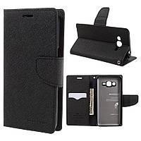 Чехол книжка для Samsung Galaxy J2 Prime G532 боковой, MERCURY GOOSPERY Fancy Diary, черный