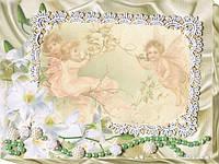 Набор для вышивки бисером на натуральном художественном холсте Нежные лилии