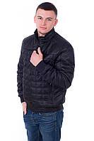 Куртка мужская весна осень Стежка черный (48-58)