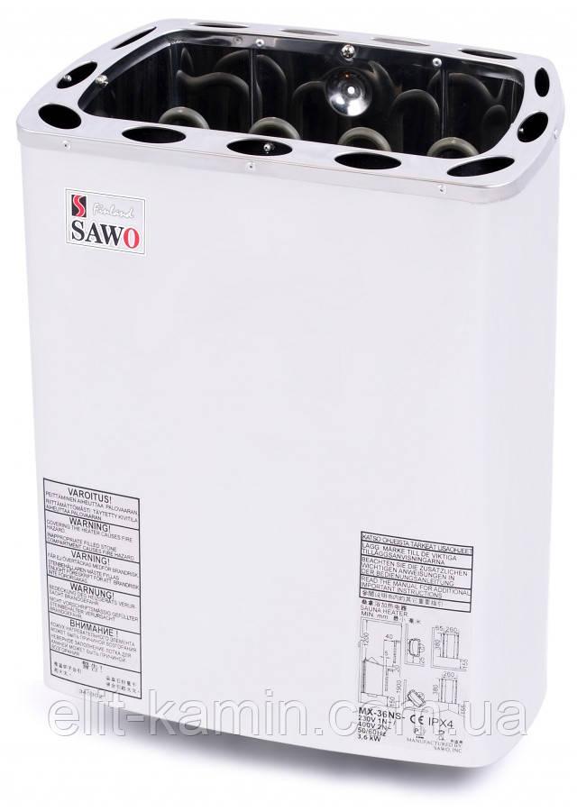 Электрокаменка Sawo Mini X MN-23NS