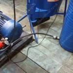 Подача воды к Линии гранулирования МЛГ 1000