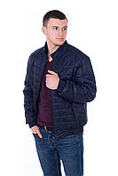 Куртка мужская весна осень Стежка темно-синий (48-58)