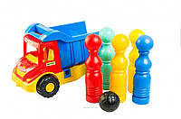 Multi truck грузовик с кеглями