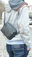 Городская кожаная сумка Babak 541076 черный