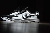 Кроссовки мужские Nike Air Max Zero черно-белые топ реплика
