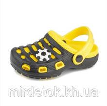Сабо пляжные Paddini Clog желтые