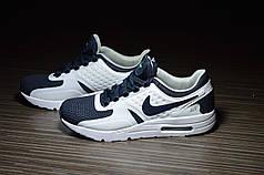 Кроссовки Nike Air Max Zero синие с белым топ реплика