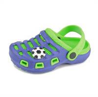 Сабо пляжные Paddini Clog сине-зеленые
