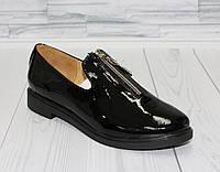 Туфли с молнией. Натуральная кожа. 0081, фото 1