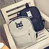 Молодежный рюкзак с модным котиком, фото 2