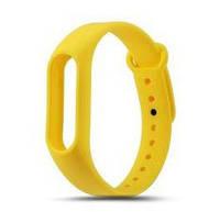 Ремешок для фитнес-трекера Xiaomi Mi Band yellow желтый оригинал Гарантия!
