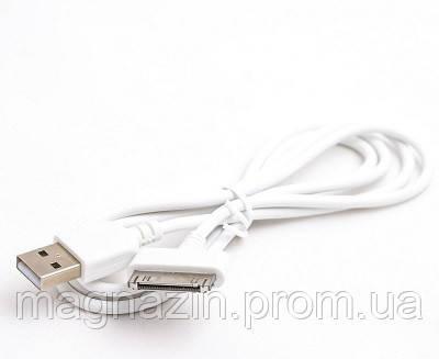 USB КАБЕЛЬ ДЛЯ IPHONE 3-3S-4G-4S NOMI WHITE, фото 2