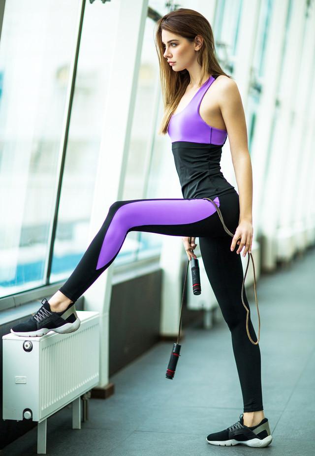Basic Lavender костюм для фитнеса от Designed For Fitness