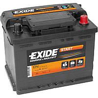 Аккумулятор EXIDE Technologies Start EN 600 (62 Ач). Стартовая батарея для запуска двигателей моторных лодок,