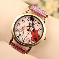 Часы женские наручные, стильные часы женские с цветным ремешком