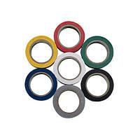 Изолента HOROZ ELECTRIC 20м синяя,черная,красная,желтая,зеленая