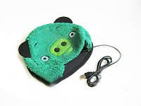 Согревающий USB коврик для мыши Angry Birds, Свин