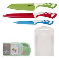 Набор керамических ножей с разделочной досточкой