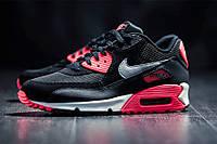 Кроссовки мужские Nike Air Max 90 Black&Red