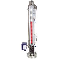 Байпасный (уровнемер) указатель уровня с магнитным роликовым индикатором Модель BNA