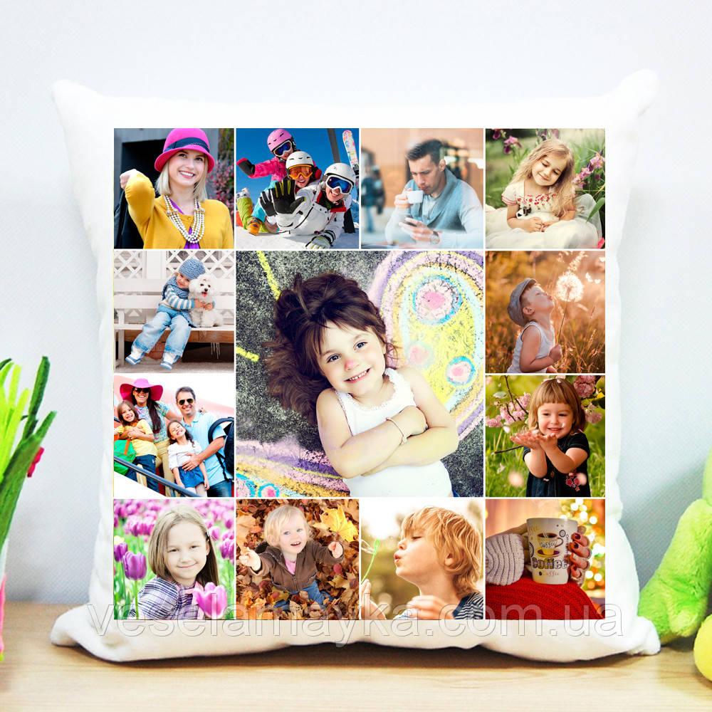 Плюшева подушка (колаж на 13 фото)