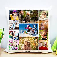 Плюшевая подушка (коллаж на 11 фото)