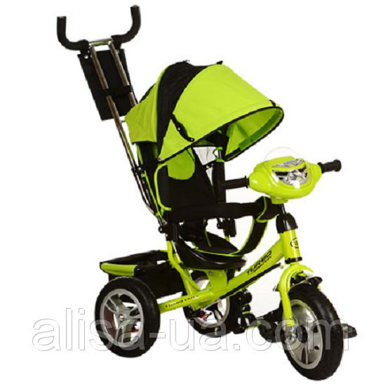Велосипед Turbo Trike M 3115-4HА салатовый детский трехколесный с фарой - купить в Киеве, цена в Украине | alisa-ua.com