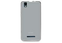 Чехол бампер для телефона Nomi (Номи) i5011 EVO M1 Черно-прозрачный