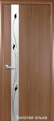 "Дверь Злата с и рисунком пленка пвх ""De Luxe"""