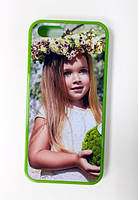Чехол силиконовый для iPhone 5 5S (TPU) с любым изображением
