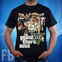Мужская футболка с принтом GTA