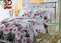Семейный комплект постельного белья Sveline Tekstil PS135-BL93 (полисатин плотностью 135 г/м.кв)