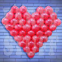 Воздушное сердце для влюбленных