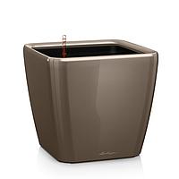Умный вазон  Quadro LS 28 Серо коричневый