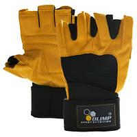 OLIMP Training gloves Hardcore RAPTOR желтые