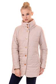 Куртка жіноча весна Irvik F100 бежевий