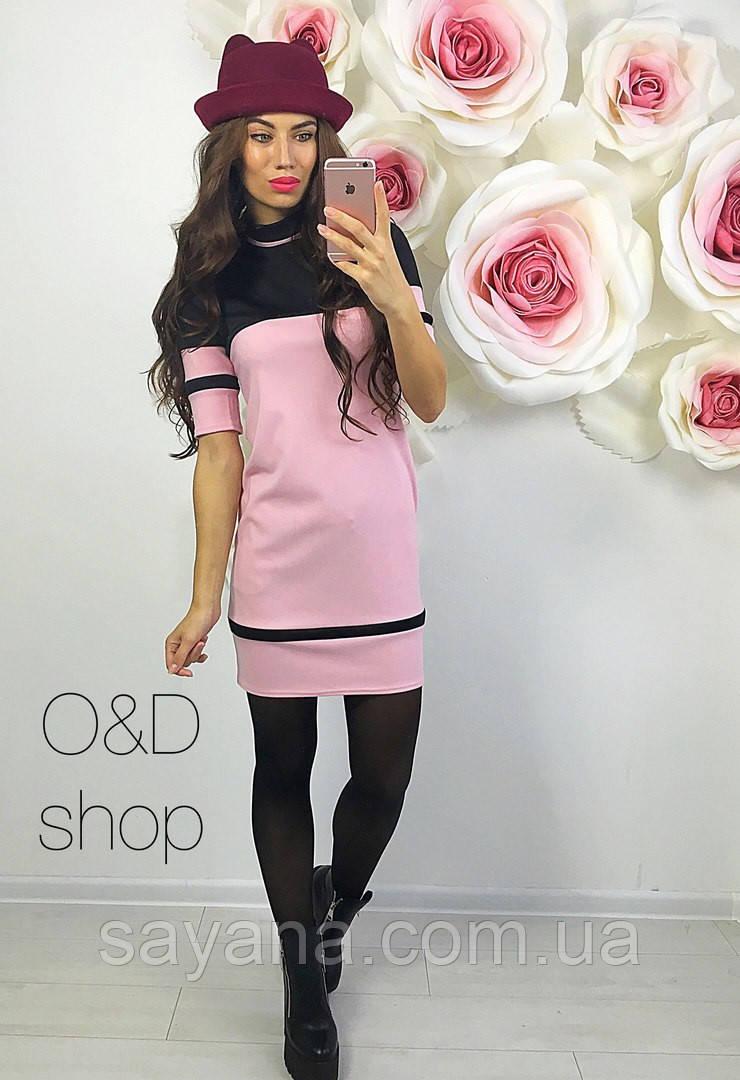 Женское стильное платье, 2 цвета. Оц-58-0117
