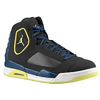 Кроссовки Air Jordan Flight Luminary Night Stadium Electric Yellow Blue Размер 45 (29cm), фото 1