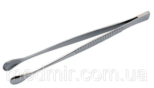 Пинцет зубчатолапчатый 200 мм, ширина 6 мм (П-83)
