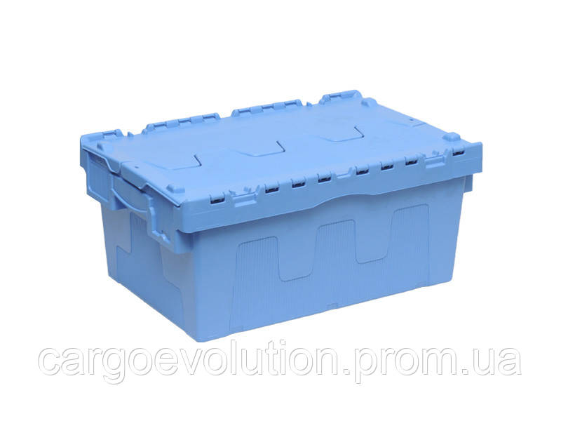 Пластиковый ящик для транспортировки 600 х 400 х 265