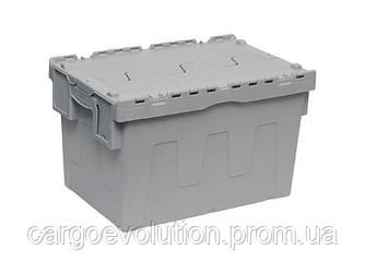 Пластиковый ящик для транспортировки 600 х 400 х 315