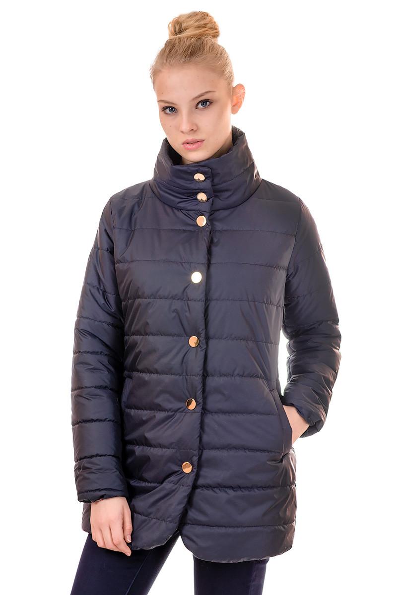 Куртка жіноча весна Irvik F101 синій