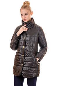 Женский демисезонный плащ Irvik F102 черный