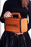Винтажная сумка Chanel деревяная